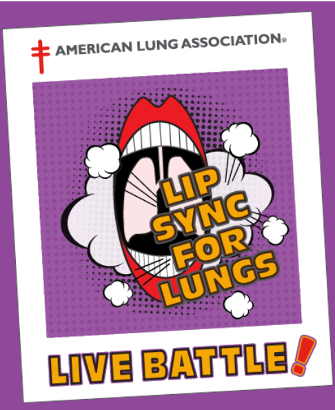 "Lip Sync for Lungs ""LIVE BATTLE"""