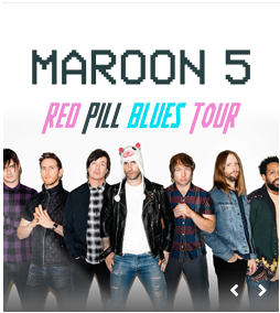 Maroon 5, Red Pill Blues Tour