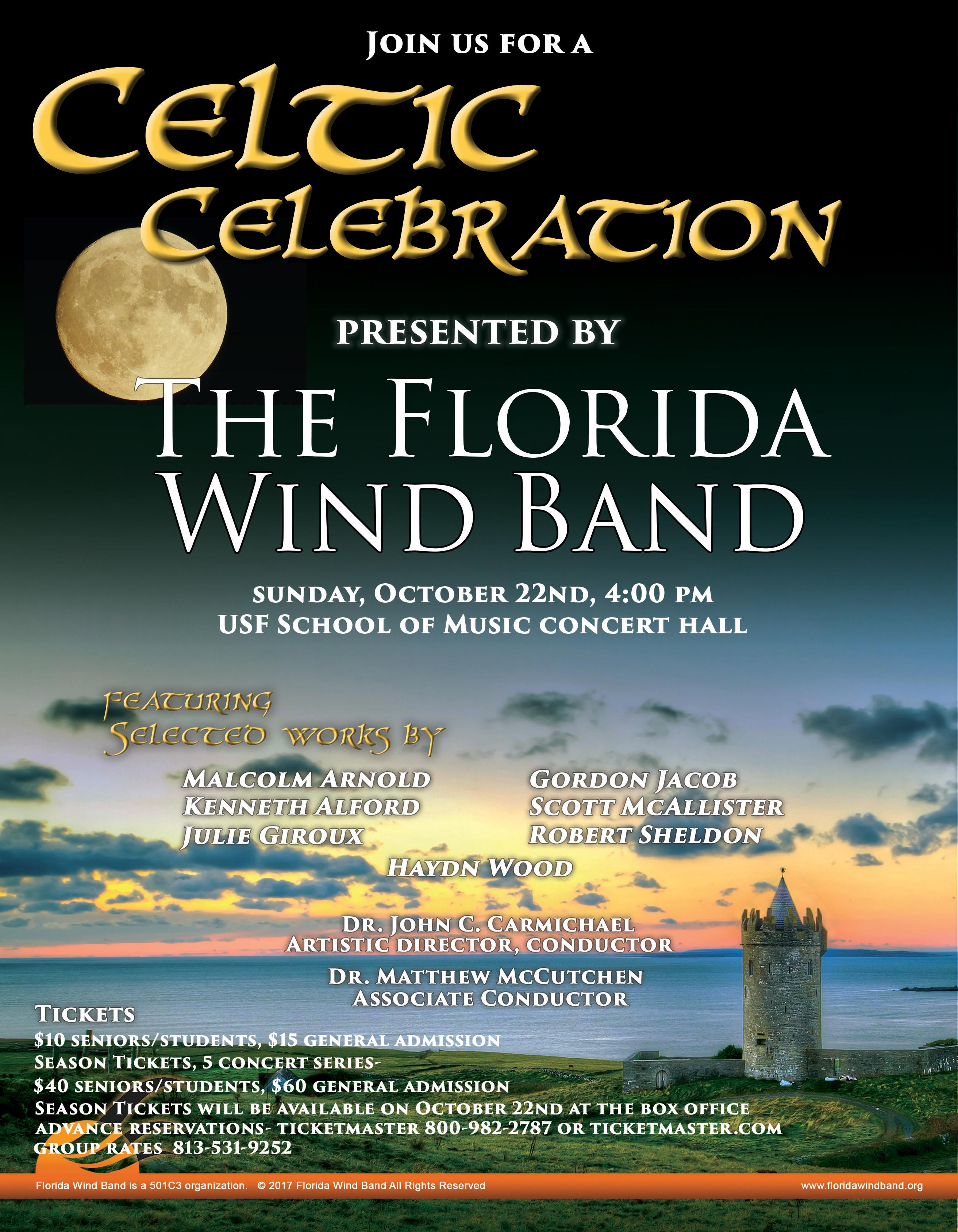 Celtic Celebration  presented by The Florida Wind Band