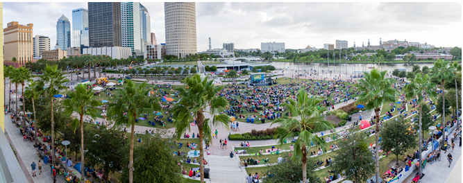 Opera Tampa and the Straz Center present Straz Live! in the Park