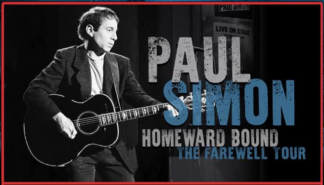 Paul Simon, Homeward Bound - The Farewell Tour