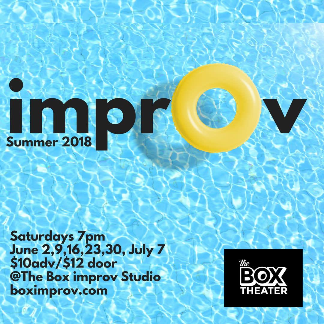 Summer Improv Shows at The Box Improv Studio