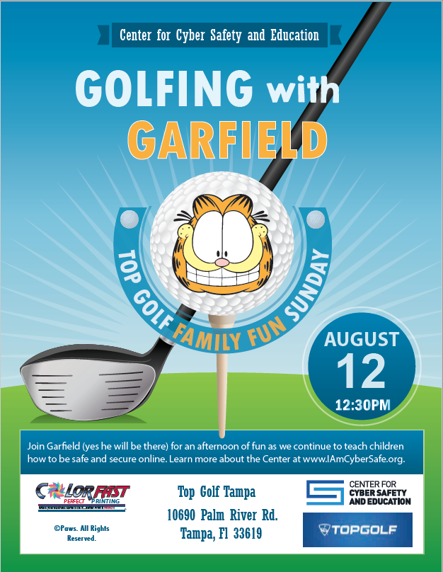 Golfing with Garfield