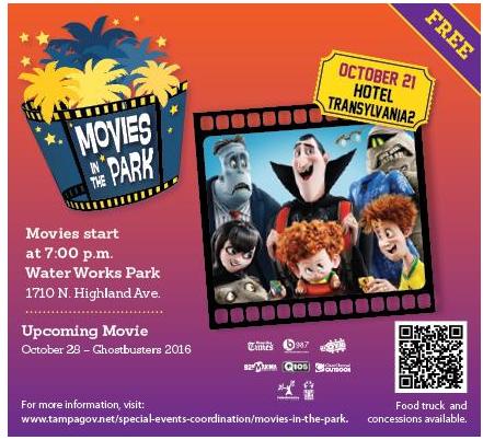 FREE Movie in Water Works Park