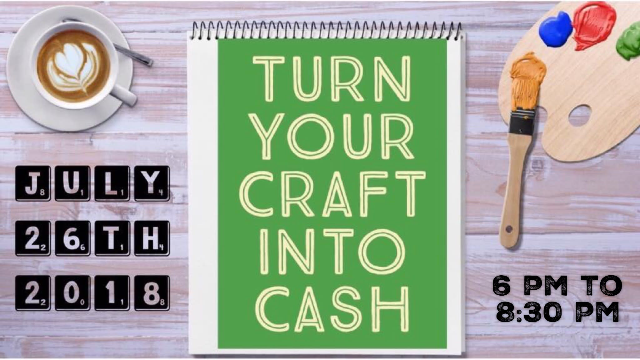 Turn Your Craft Into Cash