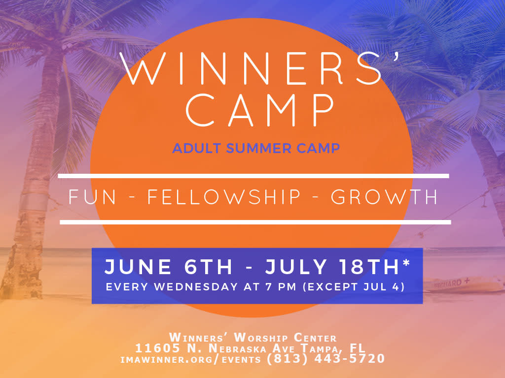 Winners' Camp - Tampa's Adult Summer Camp