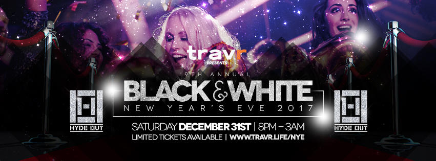 9th Annual Black & White New Year's Eve