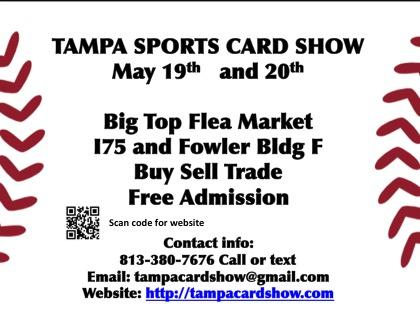 Baseball Card and Collectible Show Tampa