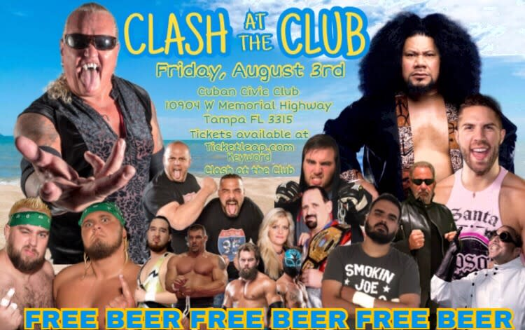 Clash at the Club (Profesional Wrestling)