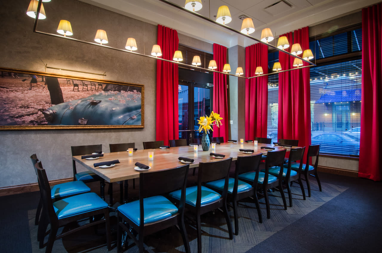 Enjoy A New Spin In Private Dining Options