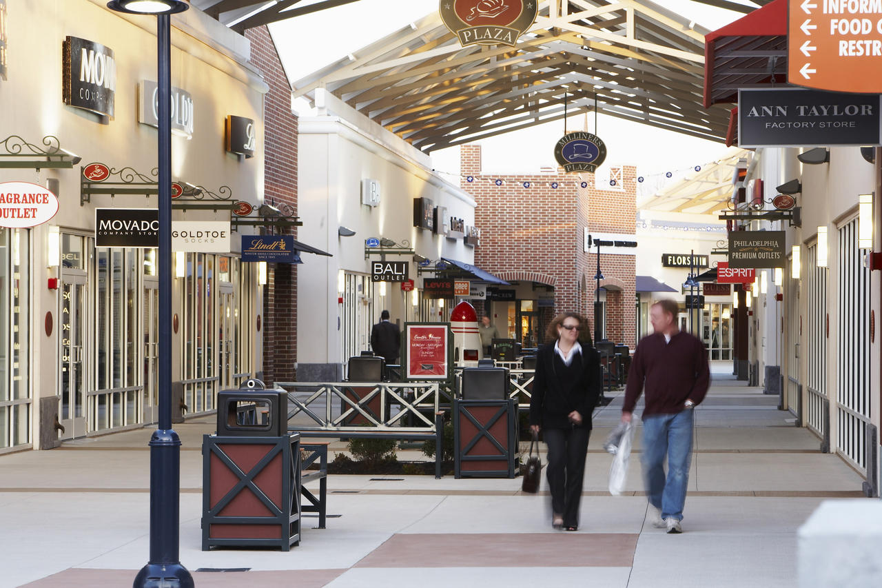 Philadelphia Premium Outlets - Philadelphia outlets map