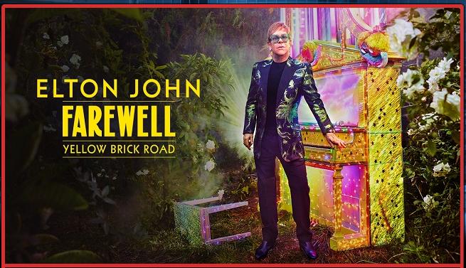 Elton John,  'Farewell Yellow Brick Road' Tour at Amalie Arena