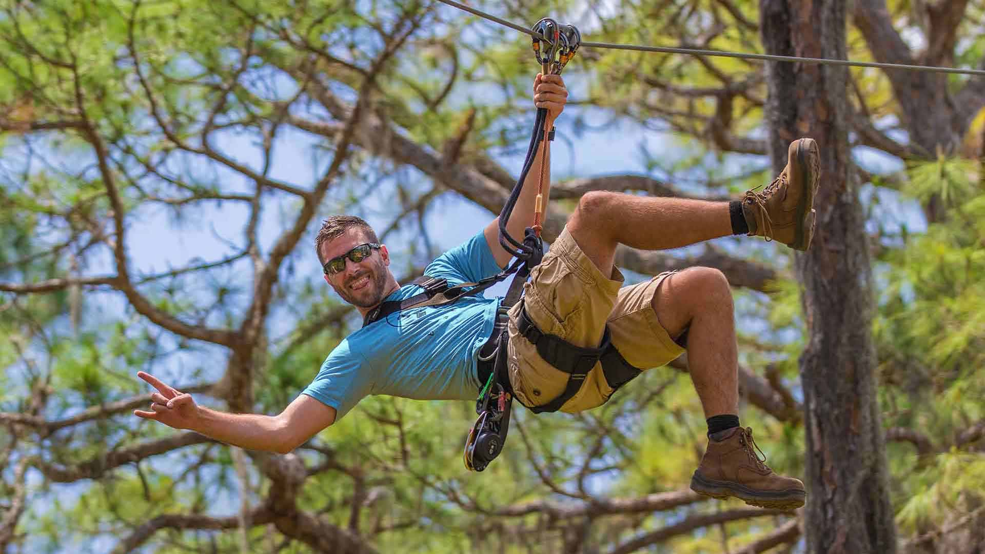Military Discount at TreeUmph! Adventure Course