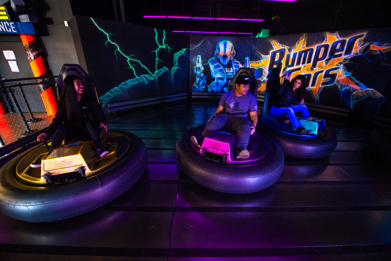 Fun awaits you and your friends!  No license required to spin, bump and crash here!
