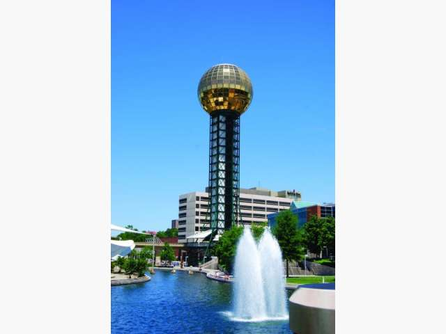 sunsphere at worlds fair park