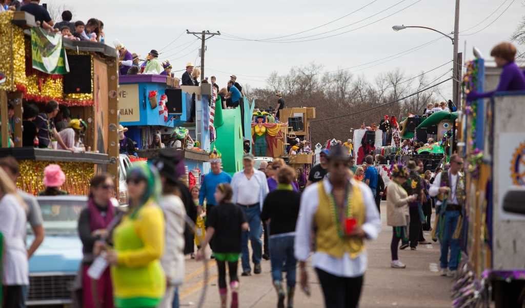 Special Mardi Gras offers in Shreveport and Bossier City La
