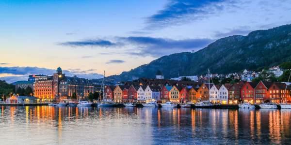 Fjord Norway UNESCO fjords mountains waterfalls Bergen