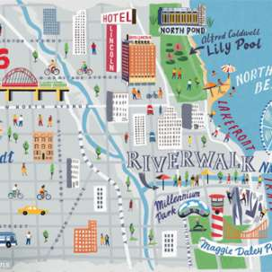 Plan a Trip to Chicago Visitors Guide Maps Directions Weather