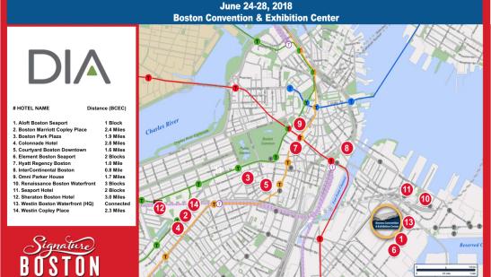Boston Area Maps
