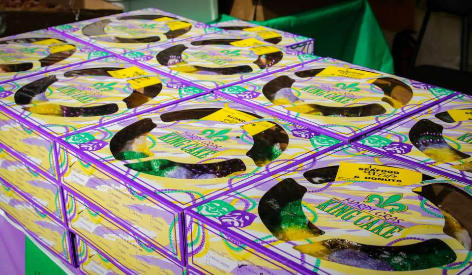 Best King Cakes in New Orleans