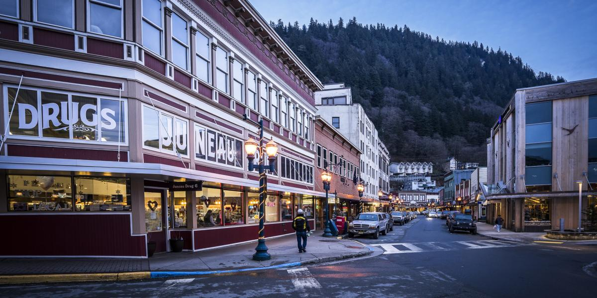 Explore Downtown Juneau Juneau CVB
