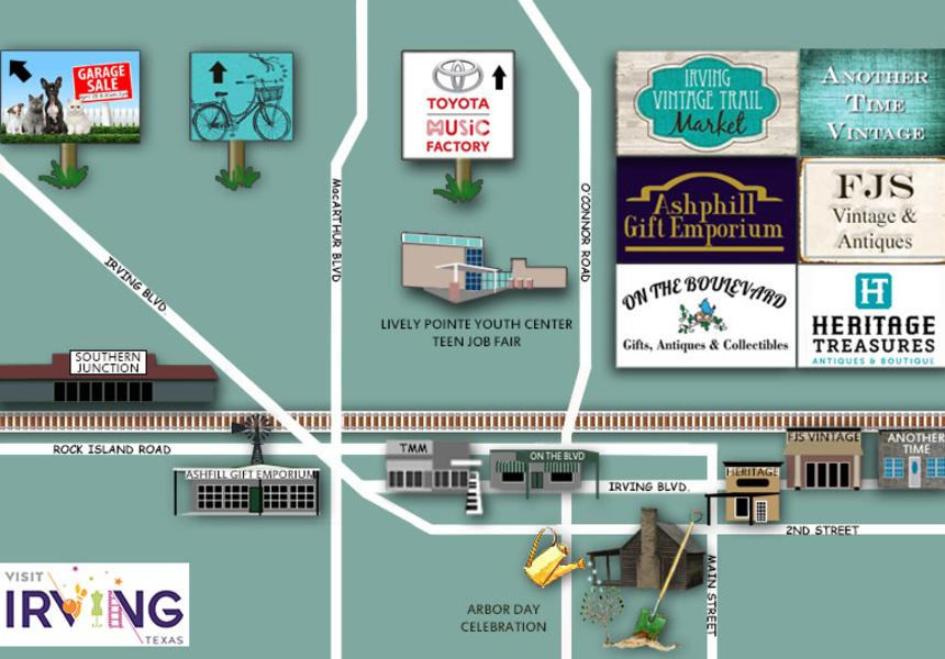 MAP OUT YOUR WEEKEND IN IRVING
