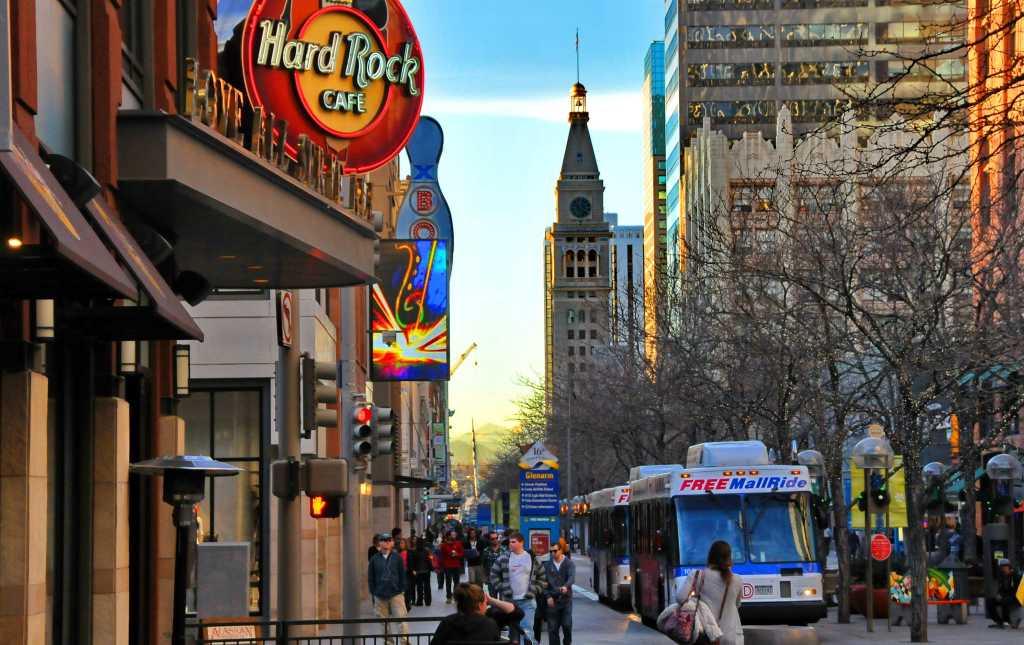 Downtown Denver VISIT DENVER