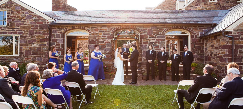 Bucks County Pennsylvania Outdoor Wedding Venues