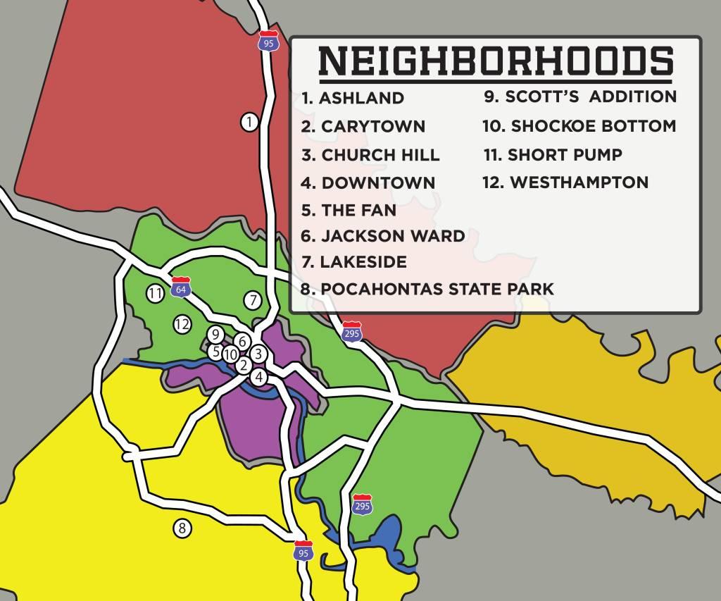 Richmond Region Neighborhoods Visit Richmond VA