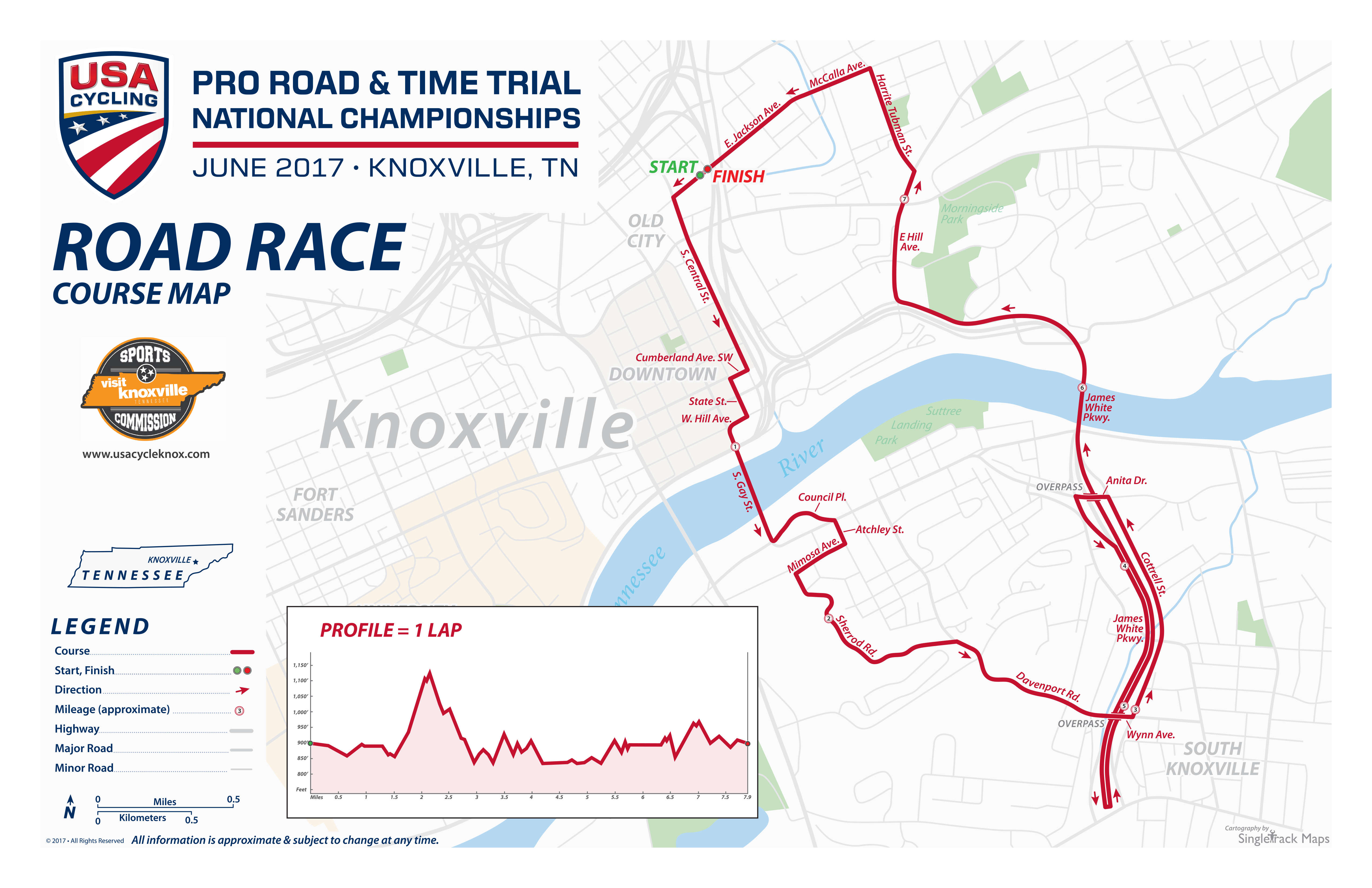 Courses Revealed for USA Cycling Professional Road Time Trial