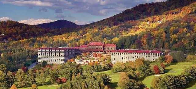 Escape To A Historic Four Diamond Mountain Resort