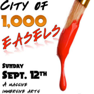 City of 1000 Easels – Immersive Arts Experience in Downtown Asheville