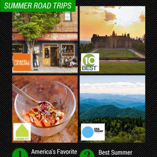 Asheville Buzzing as Top Road Trip Destination