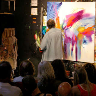 Jonas Gerard Paints Live