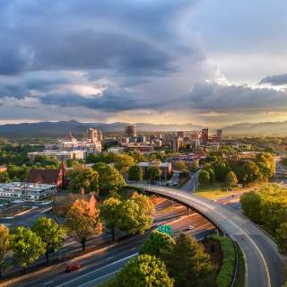 Downtown Asheville Skyline