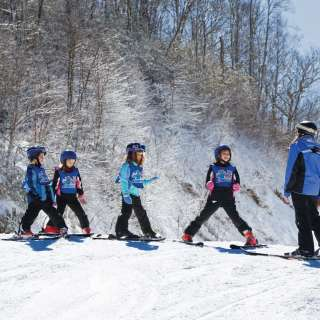Ski Lesson at Cataloochee Ski Area