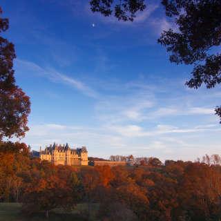 Biltmore Rear View in Fall