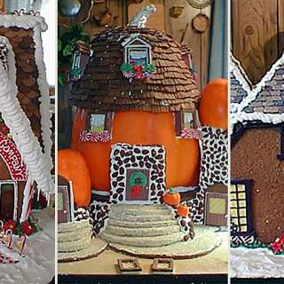 Deni Cole Gingerbread House