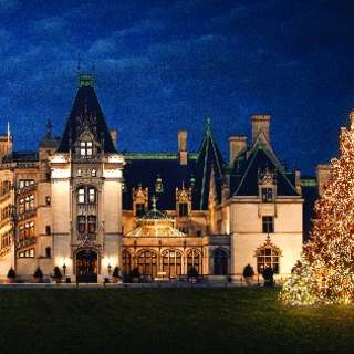 Christmas Lights at Biltmore thumbnail