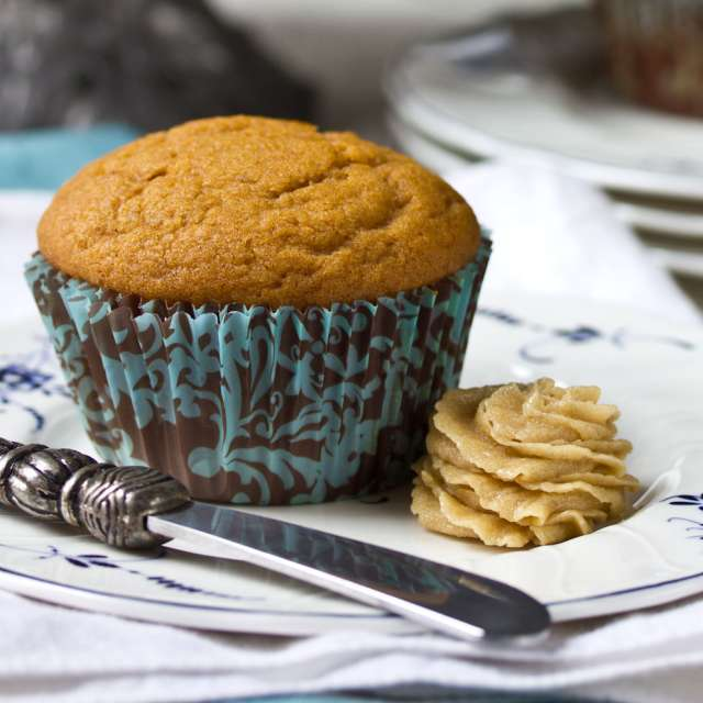 Easy Pumpkin Spiced Muffins #Recipe   ExploreAsheville.com