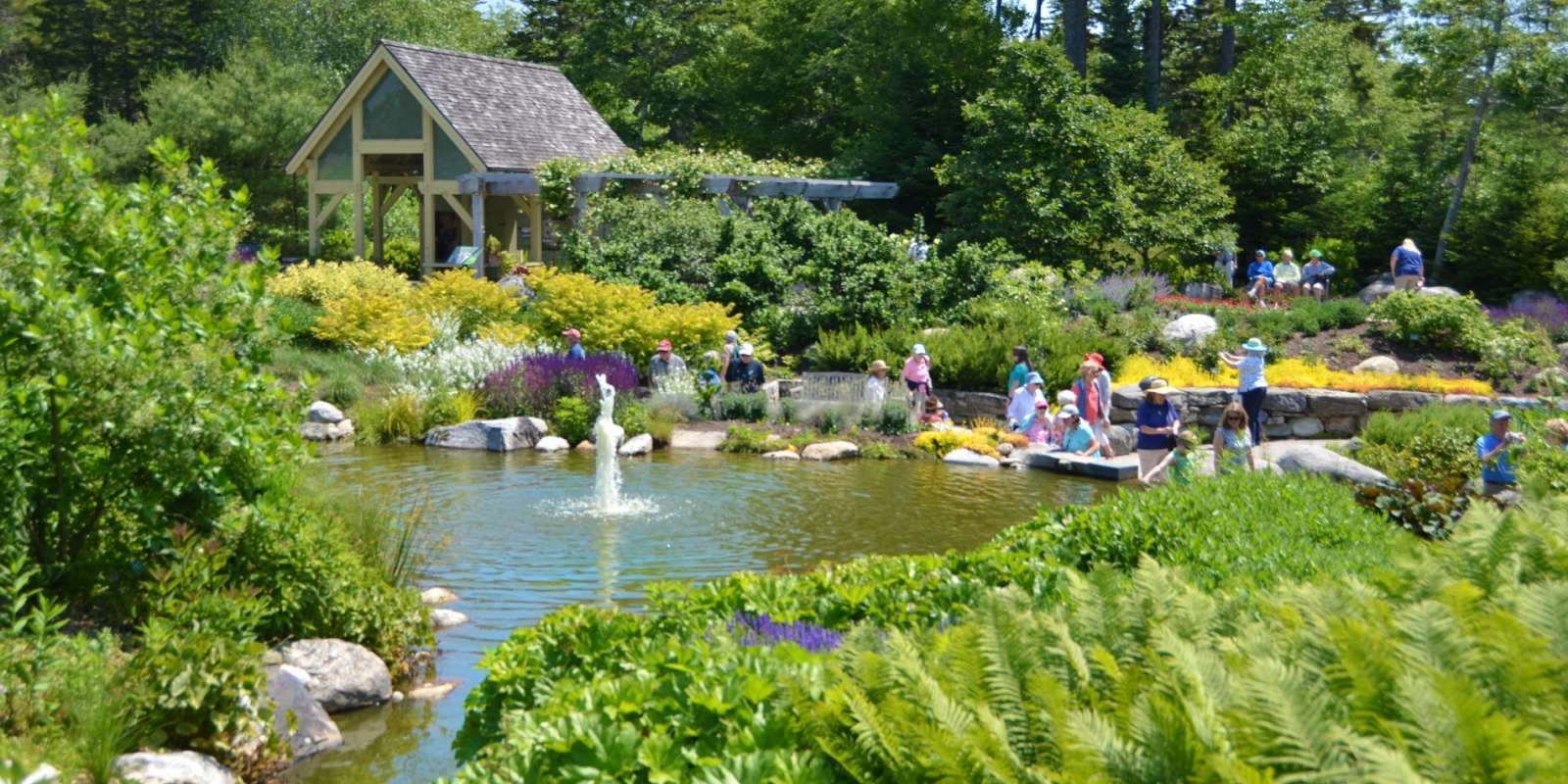 Coastal Maine Botanical Gardens Boothbay Harbor Maine MidCoast U0026 Islands