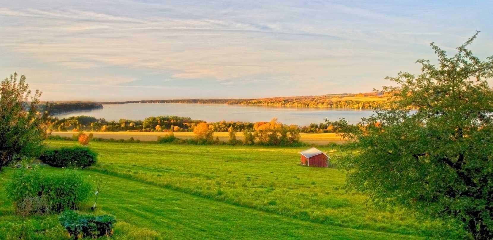 New york cayuga county - Owasco Lake