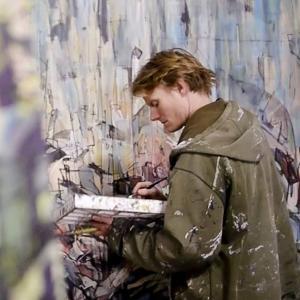 Oakland painter Henry Riekena
