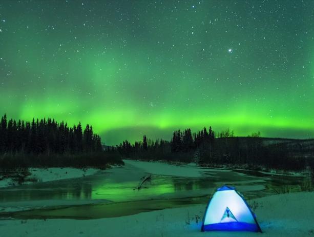 Aurora Season in Interior Alaska}