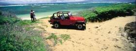 4-Wheel Driving on Lanai Maunalei