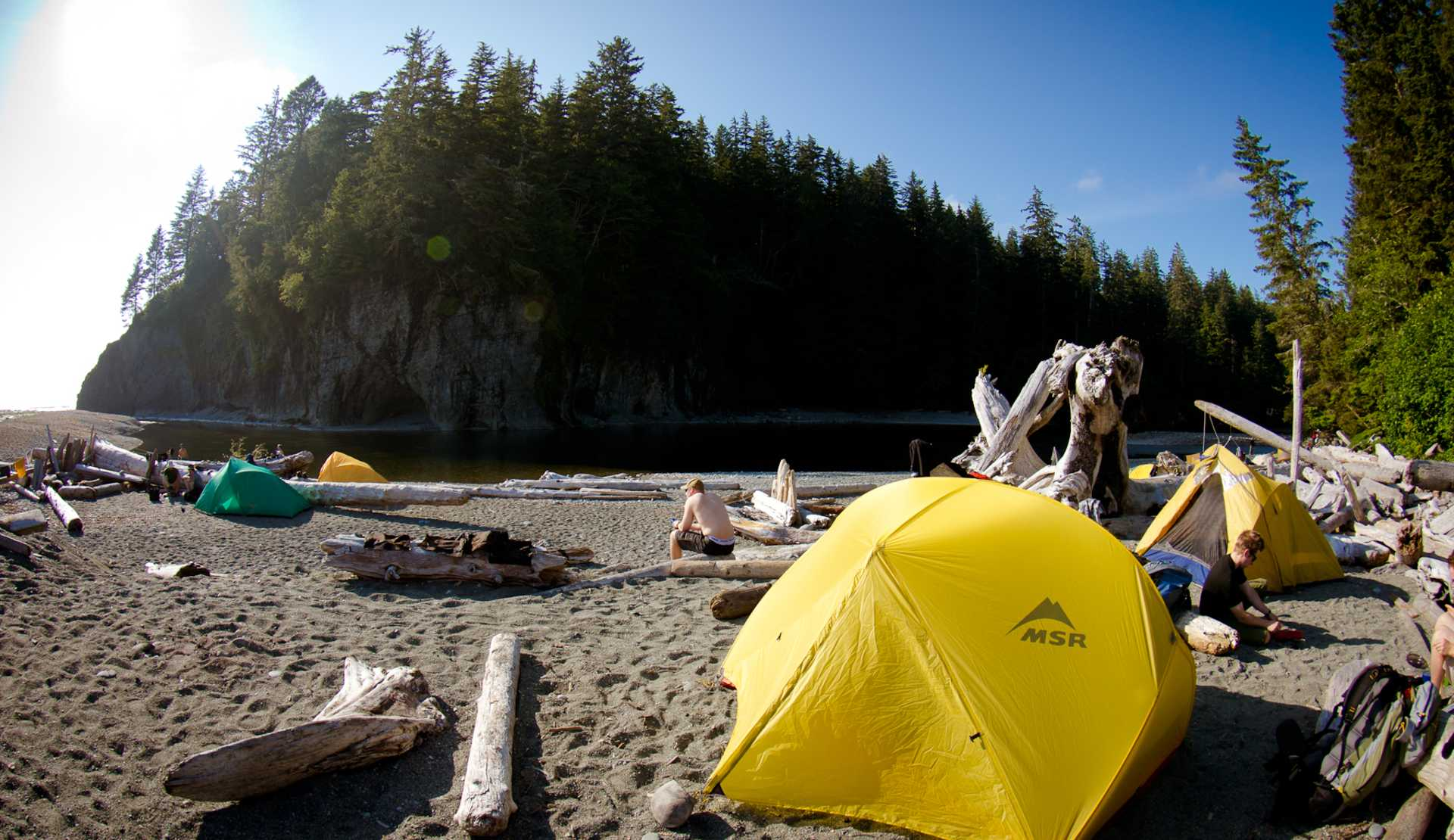 Camping In Vancouver