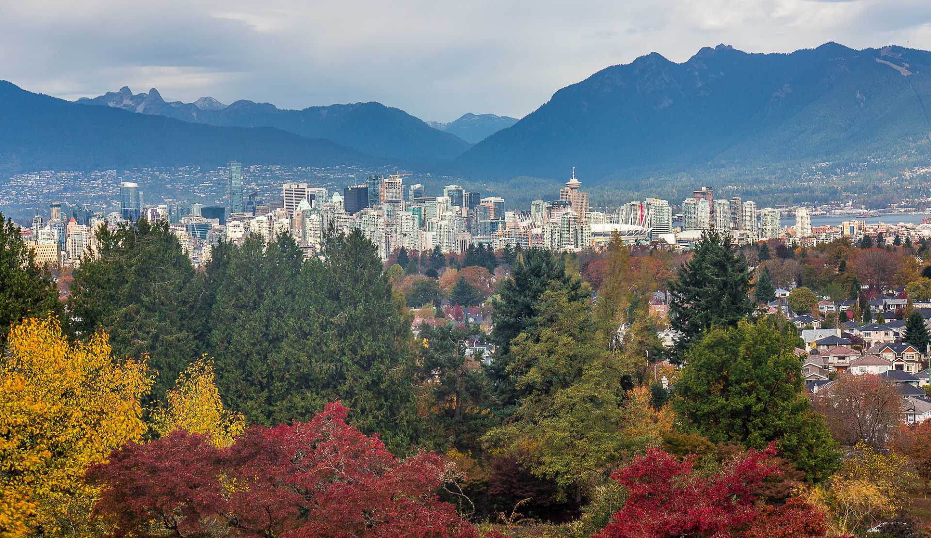 the fall colours of vancouver and bc