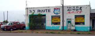 Route 66 National Scenic Byway Header