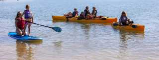 Elephant Butte - kayaks