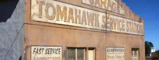 Mountainair Tomahawk Service Station